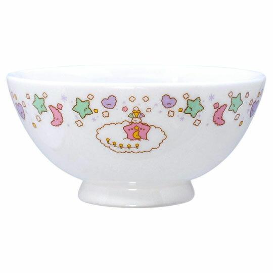 小禮堂 雙子星 日製陶瓷碗《粉綠.星星手杖》飯碗.湯碗.金正陶器
