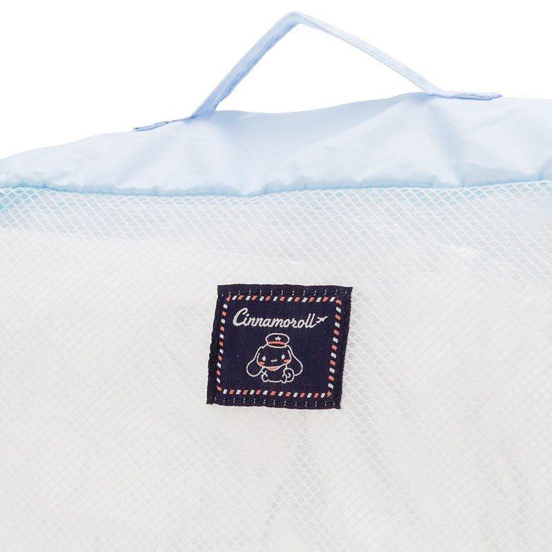 〔小禮堂〕大耳狗 尼龍方形衣物收納袋組《3入.淺藍》網袋.盥洗包.2019旅行系列 5