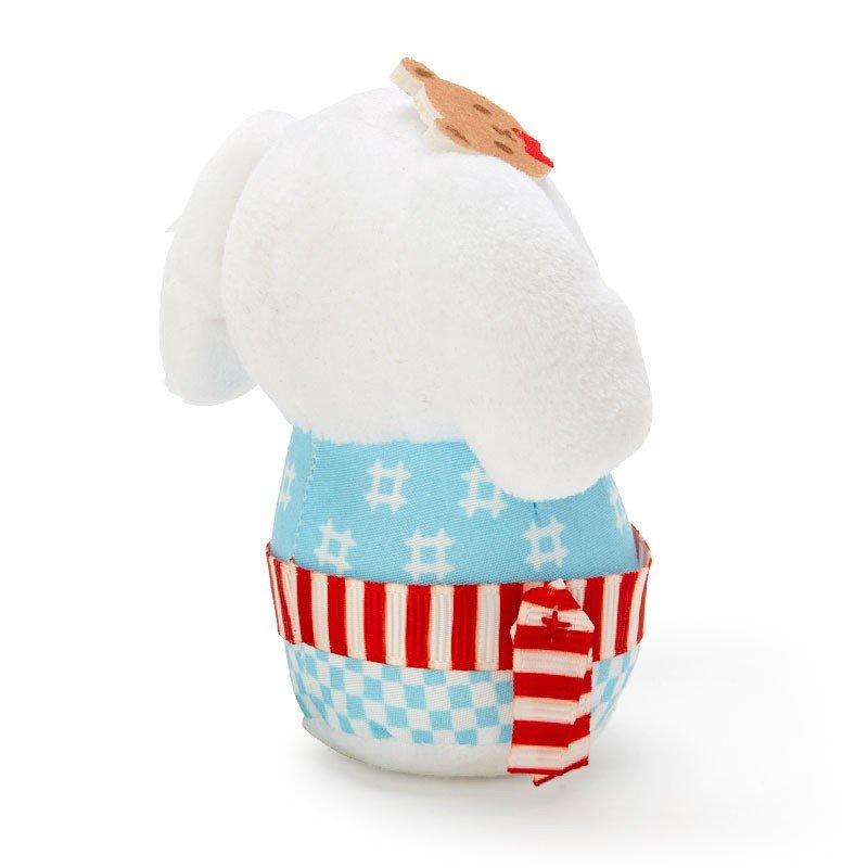 小禮堂 大耳狗 夏季浴衣絨毛玩偶不倒翁娃娃《XS.藍白》祭典娃娃 1