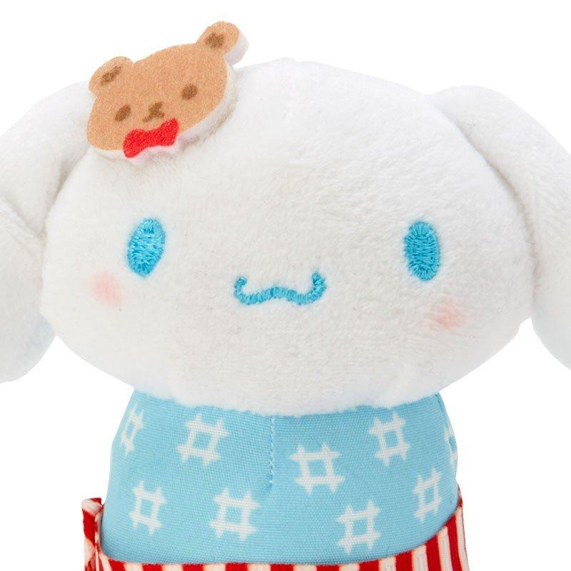 小禮堂 大耳狗 夏季浴衣絨毛玩偶不倒翁娃娃《XS.藍白》祭典娃娃 2