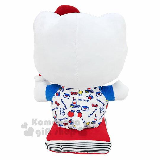 【領券折$30】小禮堂 Hello Kitty 絨毛玩偶娃娃《M.藍紅.牛奶瓶》擺飾.玩具