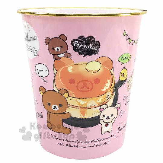 〔小禮堂〕角落生物 圓形無蓋垃圾桶《金黃.冰淇淋店》書報桶.收納桶.置物桶 0