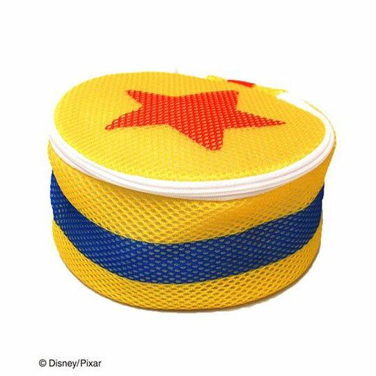 〔小禮堂〕玩具總動員 星星 圓筒洗衣袋《黃橘》洗衣網袋 0