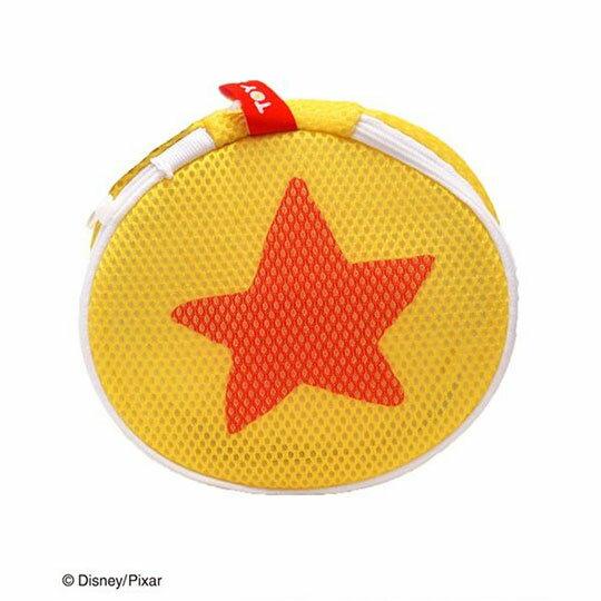 〔小禮堂〕玩具總動員 星星 圓筒洗衣袋《黃橘》洗衣網袋 2