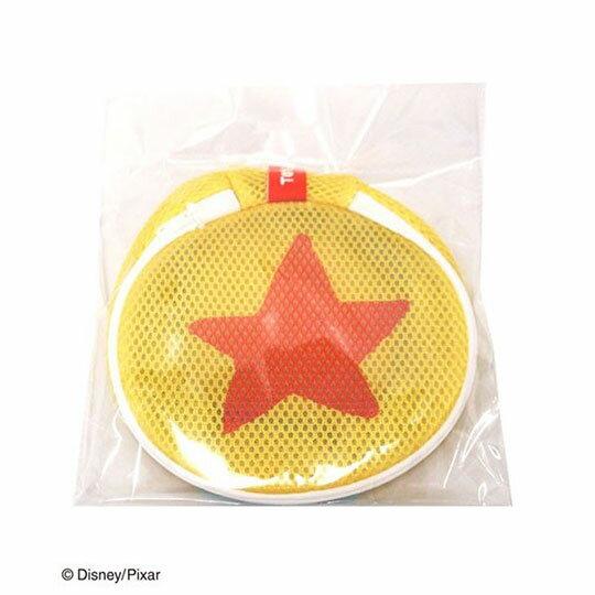 〔小禮堂〕玩具總動員 星星 圓筒洗衣袋《黃橘》洗衣網袋 4