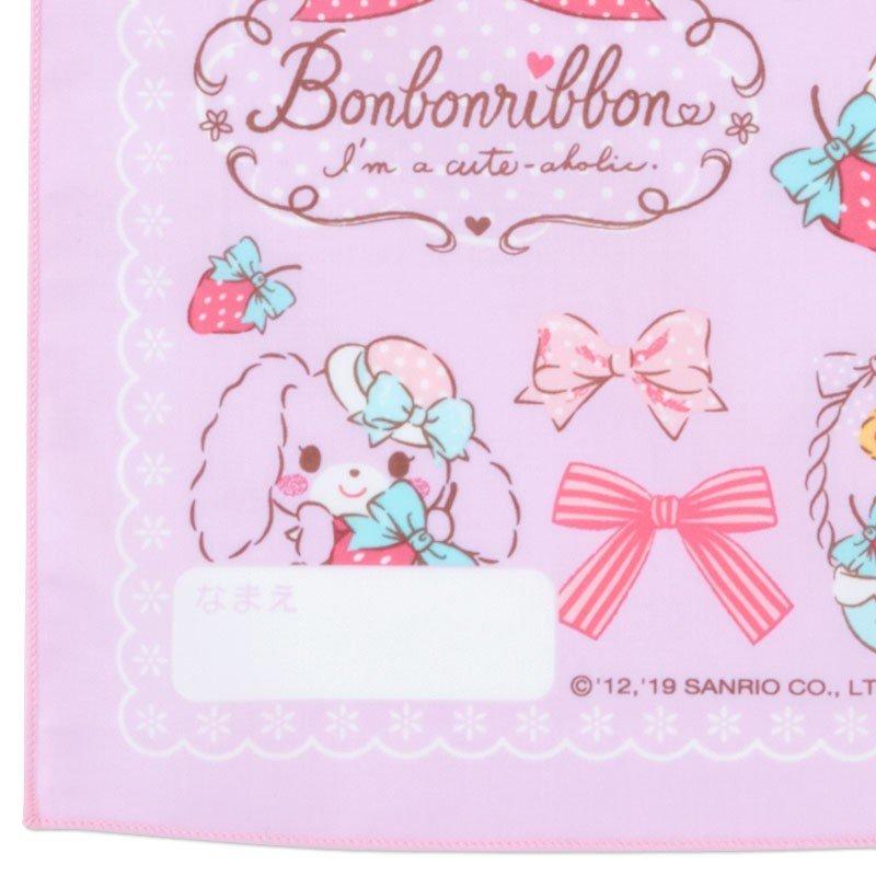 〔小禮堂〕蹦蹦兔 日製棉質便當包巾《粉紫.草莓》43x43cm.手帕.餐巾.桌巾 2