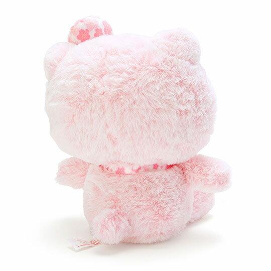 〔小禮堂〕Hello Kitty 絨毛玩偶娃娃《S.粉》玩具.擺飾.燦爛櫻花系列 2