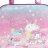 〔小禮堂〕美樂蒂 防水海灘袋波士頓包《粉藍.冰沙杯》透明游泳袋.2020夏日特輯 1