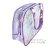 〔小禮堂〕蹦蹦兔 防水海灘袋波士頓包《藍紫.蝴蝶結》透明游泳袋.2020夏日特輯 3