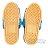 〔小禮堂〕迪士尼 史迪奇 兒童皮質拖鞋《藍.大臉》室內拖鞋.皮拖 2