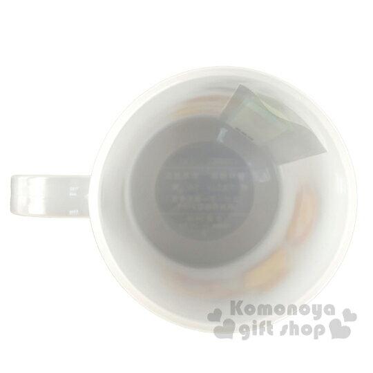 〔小禮堂〕懶懶熊 拉拉熊 日製單耳塑膠小水杯《白棕.吐司》240ml.漱口杯.塑膠杯 2
