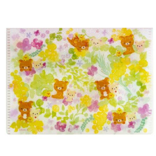 〔小禮堂〕懶懶熊 拉拉熊 日製攜帶式紙肥皂附收納夾《50入.粉綠》皂紙.紙香皂 2