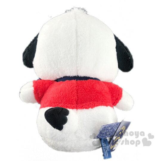 小禮堂 帕恰狗 絨毛玩偶娃娃《L.紅.藍領結》擺飾.玩具