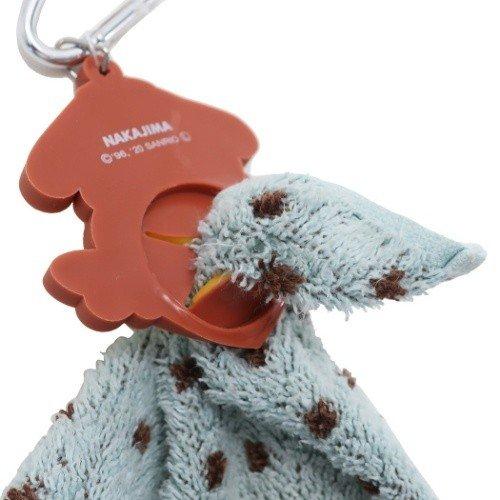 小禮堂 布丁狗 鑰匙圈 矽膠吊飾 鎖圈 掛飾 毛巾夾 毛巾收納 (黃棕 愛心)