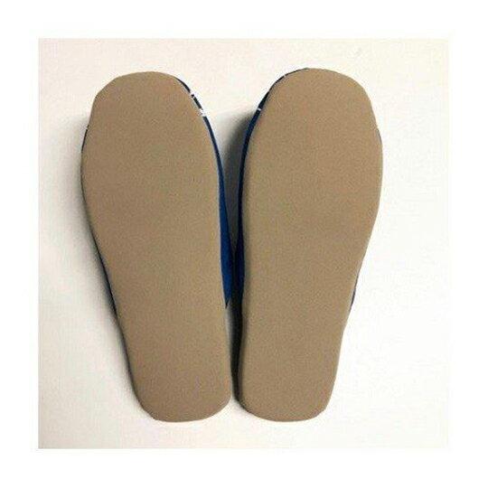 小禮堂 史努比 室內拖鞋 保暖拖鞋 成人拖鞋 棉質 半包式 (藍 衝浪)