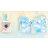 小禮堂 大耳狗 換裝娃娃衣服配件組 布偶服 玩偶配件 (藍 熱帶沙灘) 1