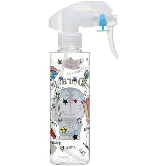 小禮堂 哆啦A夢 透明噴霧空瓶 塑膠噴霧罐 酒精噴瓶 分裝瓶 200ml (藍 竹蜻蜓)