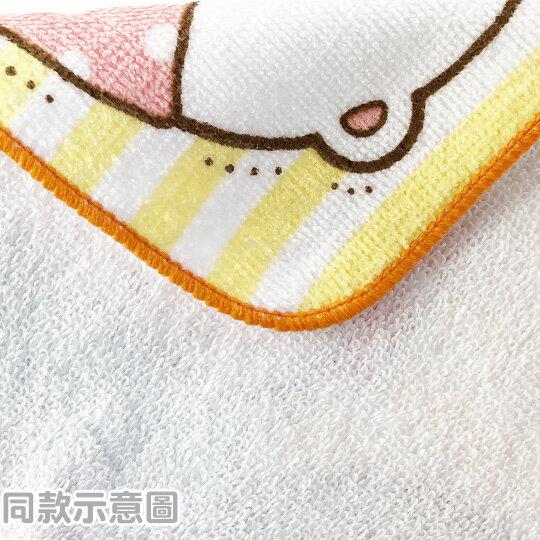 小禮堂 角落生物 恐龍 純棉割絨方巾 手帕 小毛巾 21x21cm (粉 翅膀)