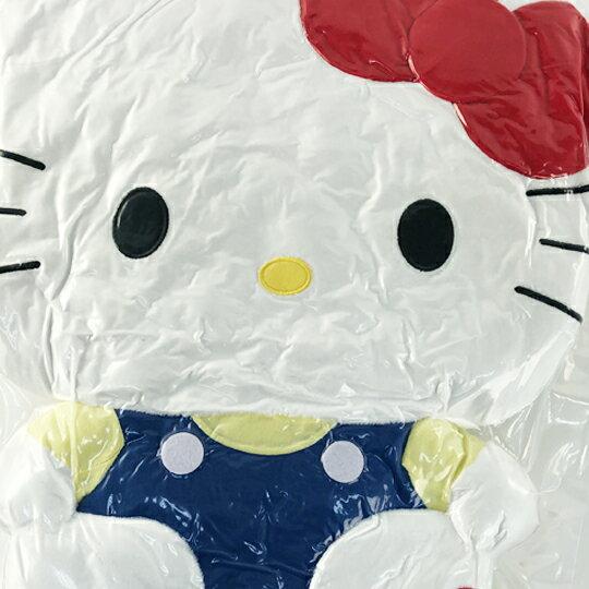 【領券折$30】小禮堂 Hello Kitty 絨毛玩偶 絨毛娃娃 大型玩偶 絨毛靠枕 (L 藍吊帶褲)