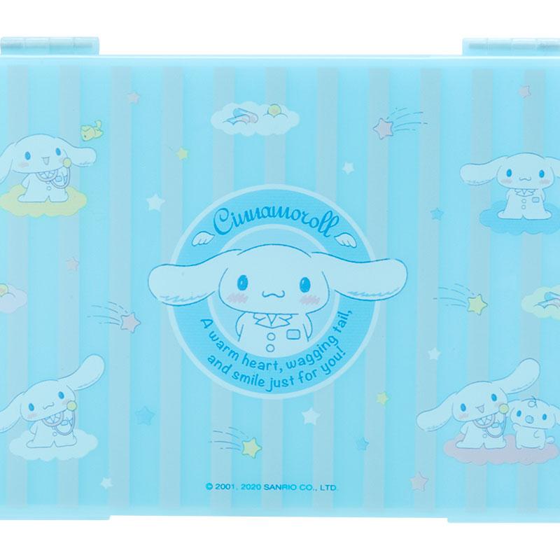 【領券折$30】小禮堂 大耳狗 攜帶型塑膠口罩盒 抗菌口罩盒 口罩夾 口罩套 (藍 防疫對策)