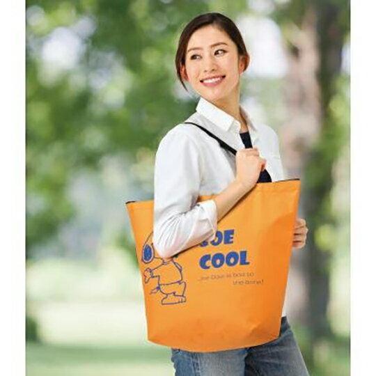 【領券折$30】小禮堂 史努比 尼龍拉鍊側背袋 尼龍托特包 環保購物袋 手提袋 (3款隨機)