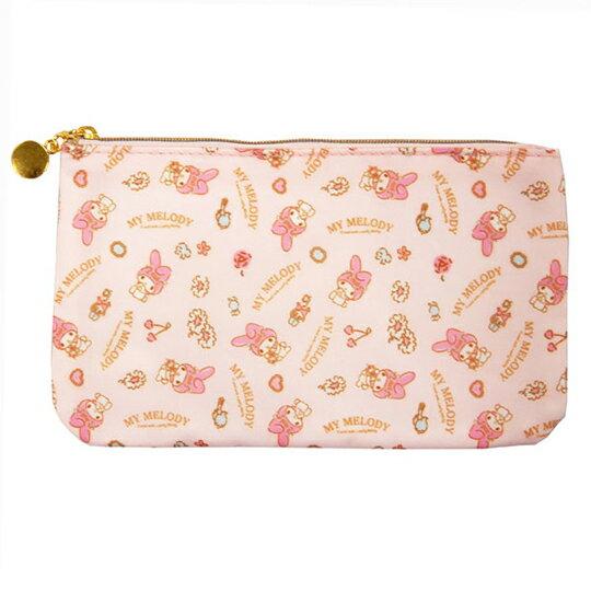 【領券折$30】小禮堂 美樂蒂 尼龍口罩包 口罩夾 口罩套 化妝包 小物包 (粉 禮金袋)