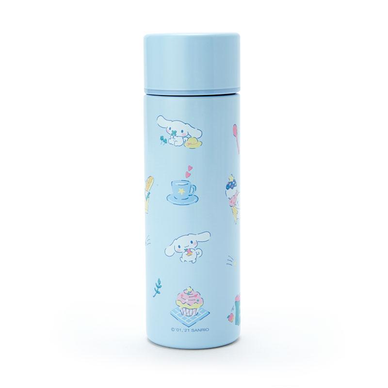 小禮堂 大耳狗 旋轉蓋不鏽鋼保溫瓶 不鏽鋼隨手瓶 隨身瓶 水壺 150ml (藍 2021新生活)