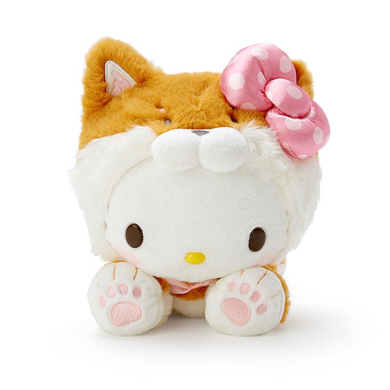 【領券折$30】小禮堂 Hello Kitty 沙包玩偶 柴犬玩偶 絨毛玩偶 中型玩偶 布偶 (淺棕 調皮柴犬)