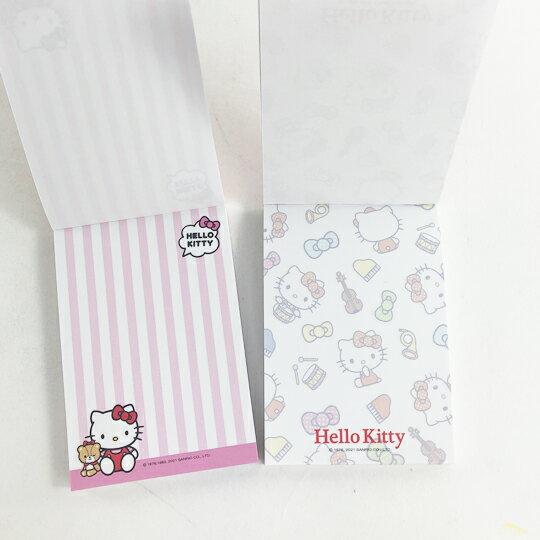 小禮堂 Hello Kitty 便條紙 (2款隨機)