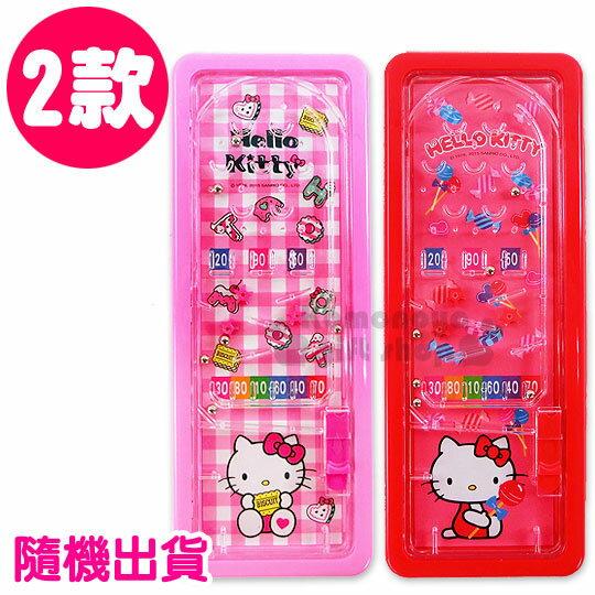 〔小禮堂〕Hello Kitty 彈珠檯筆盒《2款.隨機出貨.紅/粉》增添學習樂趣