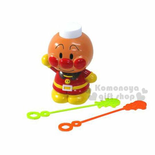 〔小禮堂嬰幼館〕麵包超人吹泡泡玩具《橘黃.站姿》適合3歲以上兒童