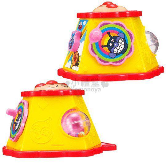 〔小禮堂嬰幼館〕麵包超人 嬰兒車用玩具《紅黃.大臉》增添親子間的親密度 2