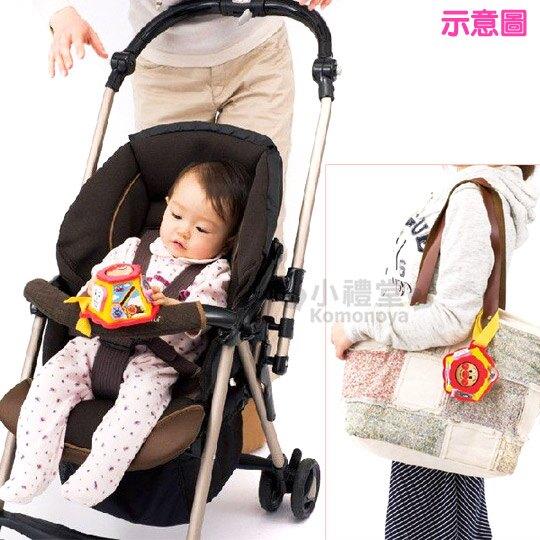 〔小禮堂嬰幼館〕麵包超人 嬰兒車用玩具《紅黃.大臉》增添親子間的親密度 3
