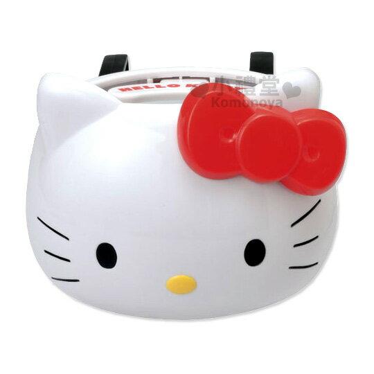 〔小禮堂〕Hello Kitty 汽車用飲料架《KT造形》方便又可愛