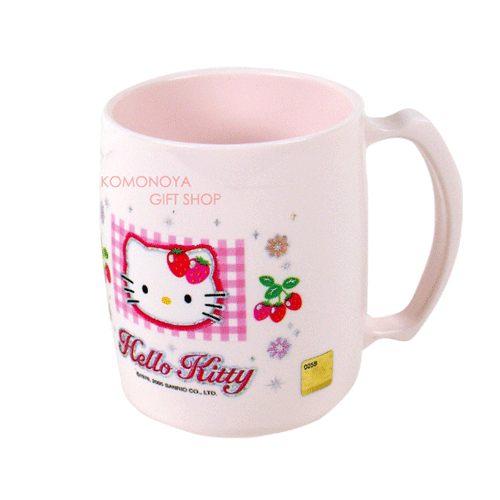 〔小禮堂韓國館〕Hello Kitty 漱口杯~大.粉紅.草莓~輕鬆美化室內空間