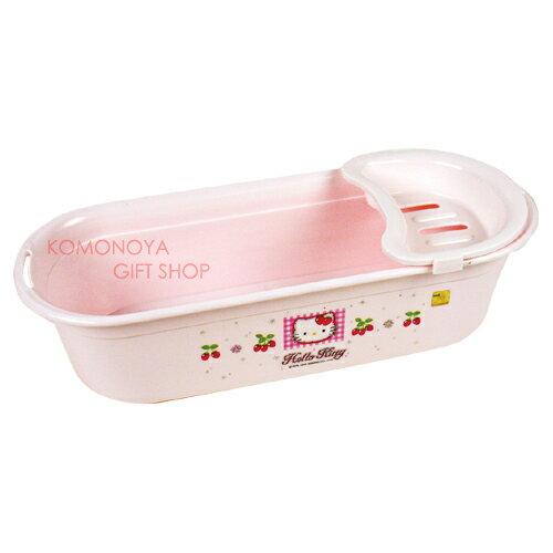 〔小禮堂韓國館〕Hello Kitty 洗髮精置物架《粉紅.草莓》輕鬆美化空間