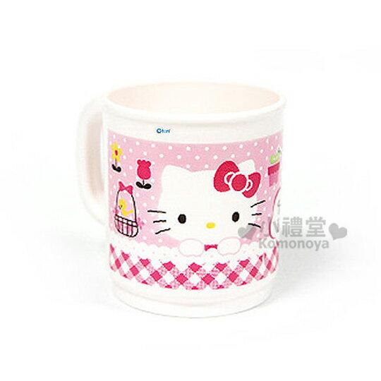 〔小禮堂韓國館〕Hello Kitty 漱口杯《白.大臉.鳥籠》質輕實用方便