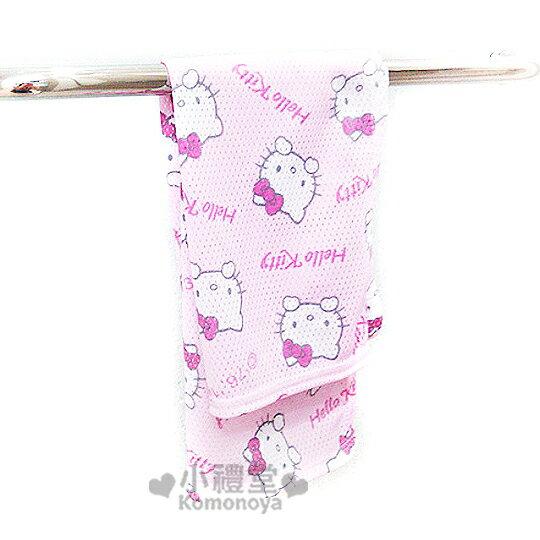 〔小禮堂〕Hello Kitty 澡巾~粉紅.甜點~