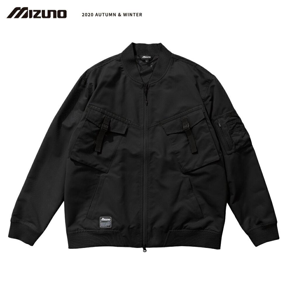 MIZUNO SPORTS STYLE 男款平織外套 D2TC057209(黑)【美津濃MIZUNO】