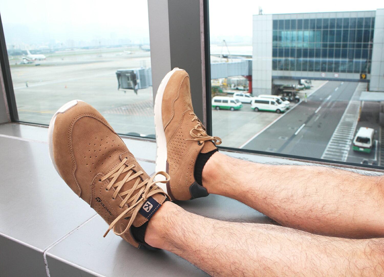 【全店點數15倍送】Kildare 巴西綁帶休閒鞋 淺棕 男 慢跑 5