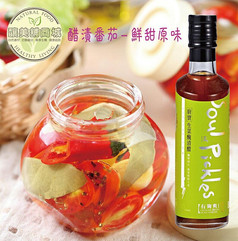 【釀美舖】有夠味-醃漬醋 容量:250ml 3