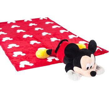 **雙子俏媽咪親子館** 美國ZOOBIES X DISNEY 迪士尼多功能玩偶毯 / 毛毯 / 玩偶 / 抱枕 【正版授權】- 米奇 Mickey