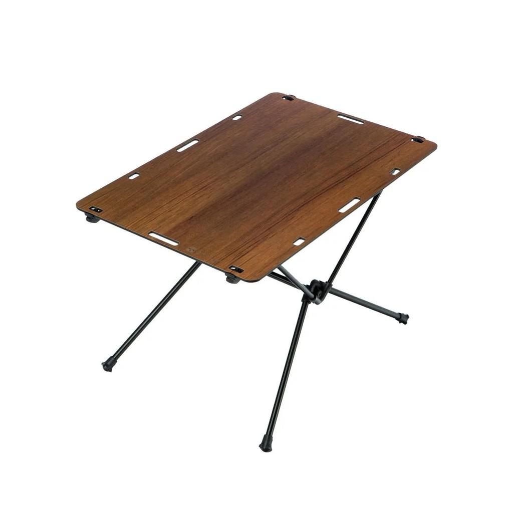 露營好物【OWL CAMP】桌子-柚木紋 TS-1851 休閒桌 野餐桌 折疊桌 露營桌 綠建材 鋁合金 戶外裝備