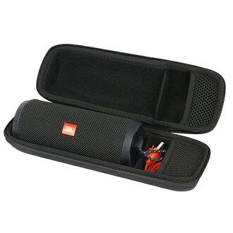 【美國代購-現貨】Khanka EVA Hard Case JBL Flip3/Flip4 無線藍芽喇叭專用 (手提式收納盒)