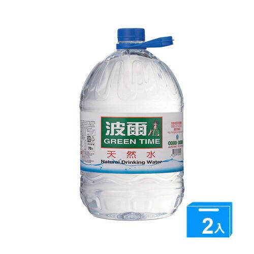 金車波爾天然水6000ml*2【愛買】