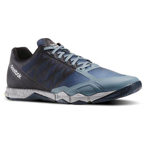 REEBOK CROSSFIT SPEED TR 男鞋 慢跑 訓練 透氣 黑灰 藍 黃 【運動世界】 AR3198