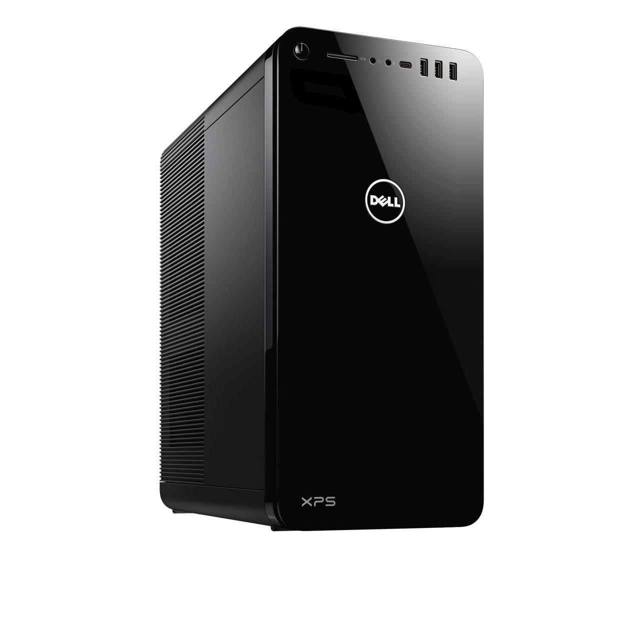 Dell XPS Desktop Black Tower- Intel i3-8100 4-Core- 1TB HDD- 8GB RAM