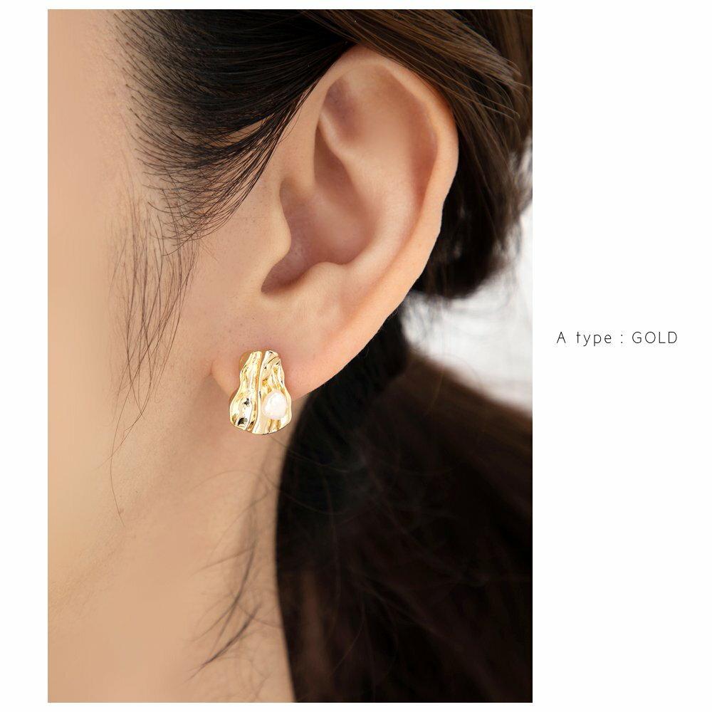 日本Cream Dot  /  不規則珍珠穿孔耳環  /  s00011  /  日本必買 日本樂天代購  /  件件含運 6