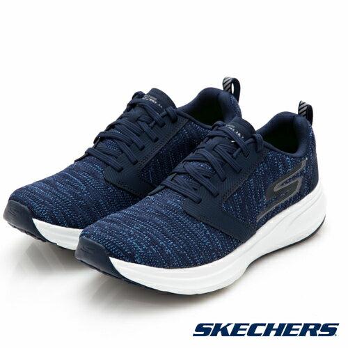 【SKECHERS促銷95折│全店免運】SKECHERS(男)GORUNRIDE7跑步系列藍-55200NVY