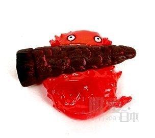 【真愛日本】 5042800010 卡西法拿火種吸鐵 霍爾的移動城堡 磁鐵 擺飾 收藏 日本帶回